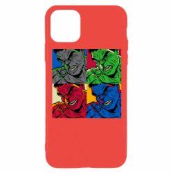 Чехол для iPhone 11 Pro Hulk pop art