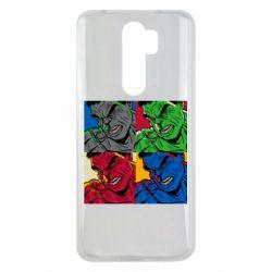 Чехол для Xiaomi Redmi Note 8 Pro Hulk pop art
