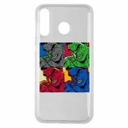 Чехол для Samsung M30 Hulk pop art