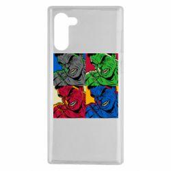 Чехол для Samsung Note 10 Hulk pop art