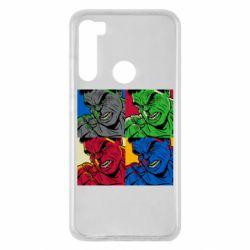 Чехол для Xiaomi Redmi Note 8 Hulk pop art