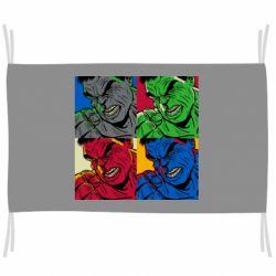 Флаг Hulk pop art