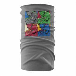 Бандана-труба Hulk pop art