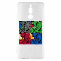 Чехол для Xiaomi Redmi 8 Hulk pop art