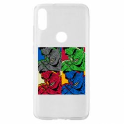 Чехол для Xiaomi Mi Play Hulk pop art