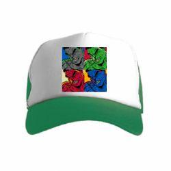 Детская кепка-тракер Hulk pop art