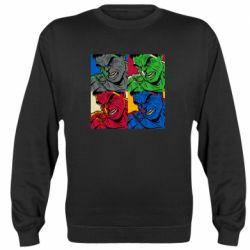 Реглан (свитшот) Hulk pop art