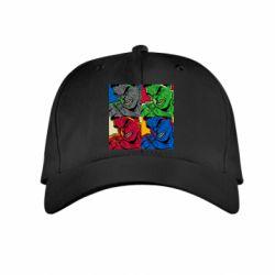 Детская кепка Hulk pop art