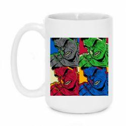 Кружка 420ml Hulk pop art
