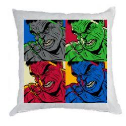 Подушка Hulk pop art