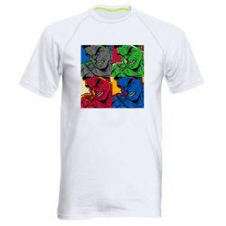 Мужская спортивная футболка Hulk pop art