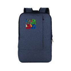 Рюкзак для ноутбука Hulk pop art