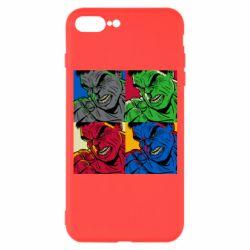 Чехол для iPhone 7 Plus Hulk pop art
