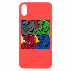 Чехол для iPhone X/Xs Hulk pop art