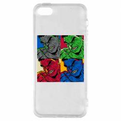 Чехол для iPhone5/5S/SE Hulk pop art