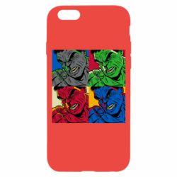 Чехол для iPhone 6/6S Hulk pop art