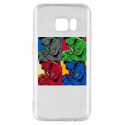 Чехол для Samsung S7 Hulk pop art