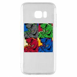 Чехол для Samsung S7 EDGE Hulk pop art