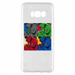 Чехол для Samsung S8 Hulk pop art