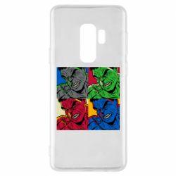 Чехол для Samsung S9+ Hulk pop art