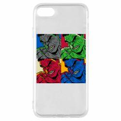 Чехол для iPhone 8 Hulk pop art