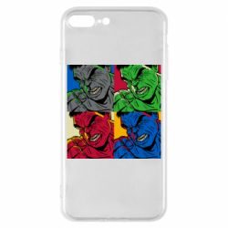 Чехол для iPhone 8 Plus Hulk pop art