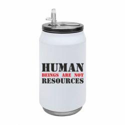 Термобанка 350ml Human beings are not resources