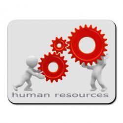 Коврик для мыши Human resources work