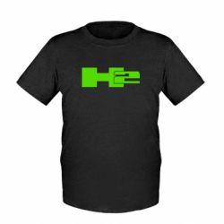Детская футболка Hummer H2 - FatLine