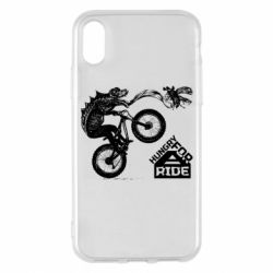 Чехол для iPhone X/Xs Hungry for  a ride