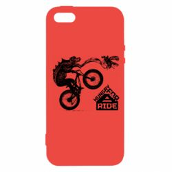 Чехол для iPhone5/5S/SE Hungry for  a ride