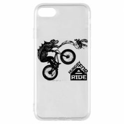 Чехол для iPhone 8 Hungry for  a ride