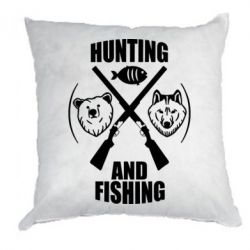 Подушка Hunting and fishing