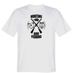 Футболка Hunting and fishing