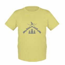 Детская футболка Hunting for ducks