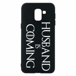 Чехол для Samsung J6 Husband is coming