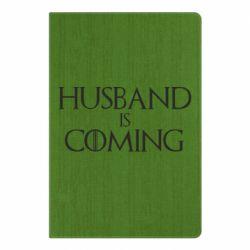 Блокнот А5 Husband is coming