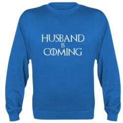 Реглан (свитшот) Husband is coming