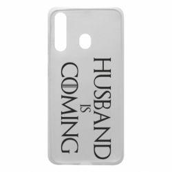 Чехол для Samsung A60 Husband is coming