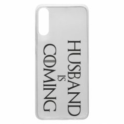 Чехол для Samsung A70 Husband is coming