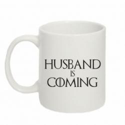 Кружка 320ml Husband is coming