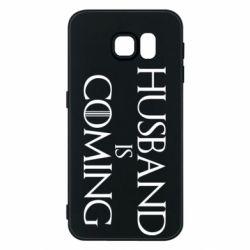 Чехол для Samsung S6 Husband is coming