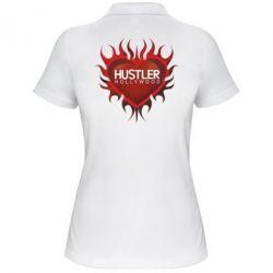 Женская футболка поло Hustler Hollywood - FatLine