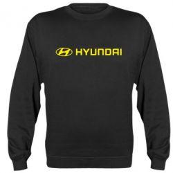 Реглан (свитшот) Hyundai 2 - FatLine