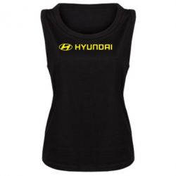 Женская майка Hyundai 2