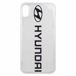 Чехол для iPhone Xs Max Hyundai 2
