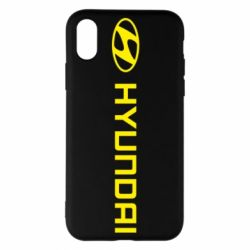 Чехол для iPhone X/Xs Hyundai 2