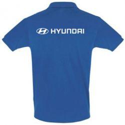 Футболка Поло Hyundai 2 - FatLine