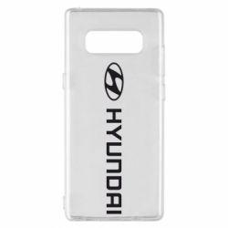 Чехол для Samsung Note 8 Hyundai 2