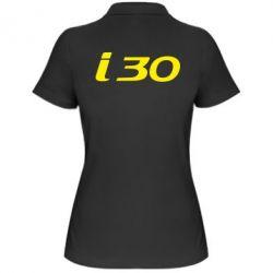 Женская футболка поло HYUNDAI i30 - FatLine